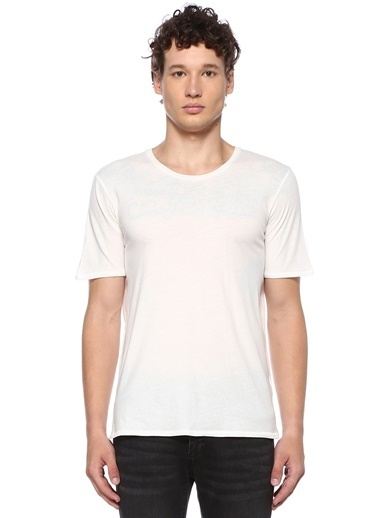 American Vintage Tişört Beyaz